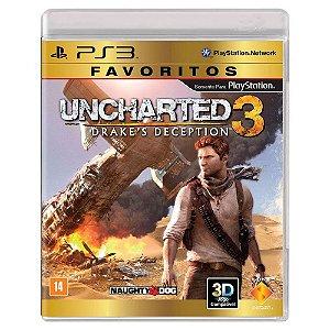 Uncharted 3: Drake's Deception (Usado) - PS3