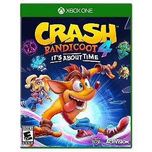 Crash Bandicoot 4: It's About Time (Pré-Venda) - Xbox One