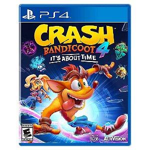 Crash Bandicoot 4: It's About Time (Pré-Venda) - PS4