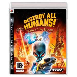 Destroy All Humans! Path of the Furon (Usado) - PS3