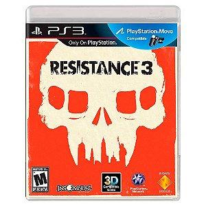 Resistance 3 (Usado) - PS3