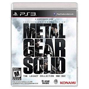 Metal Gear Solid: The Legacy Colleciton (Usado) - PS3