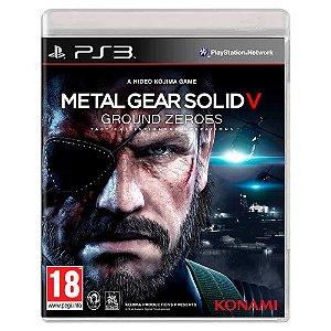Metal Gear Solid V: Ground Zeroes (Usado) - PS3