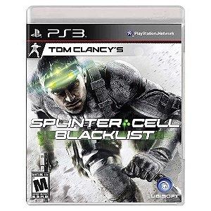 Splinter Cell: Blacklist (Usado) - PS3