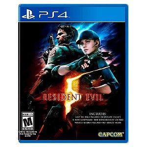 Resident Evil 5 (Usado) - PS4
