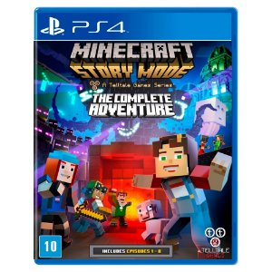 Minecraft: Story Mode The Complete Adventure (Usado) - PS4