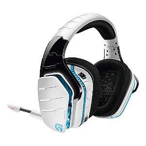 Headset Logitech G933 Artemis Spectrum Snow (Usado) - PS4 / Xbox One / Switch / PC