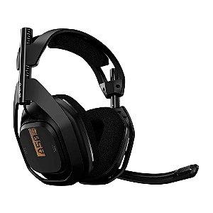 Headset sem fio ASTRO Gaming A50 Preto / Dourado (Usado) - Xbox One / PC / Mac