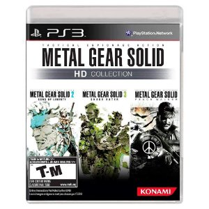 Metal Gear Solid HD Collection (Usado) - PS3