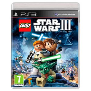 Lego Star Wars III: The Clone Wars (Usado) - PS3