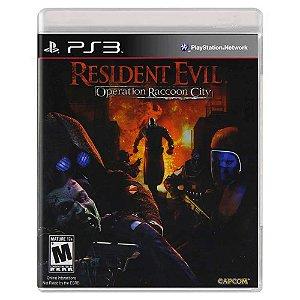 Resident Evil: Operation Raccoon City (Usado) - PS3