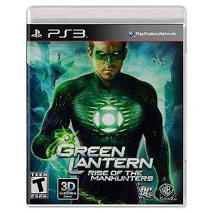 Lanterna Verde: A Ascensão dos Caçadores Cósmicos (Usado) - PS3