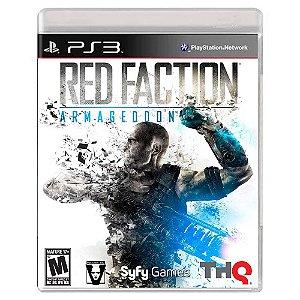 Red Faction Armageddon (Usado) - PS3
