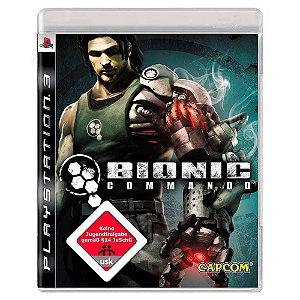 Bionic Commando (Usado) - PS3