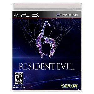 Resident Evil 6 (Usado) - PS3