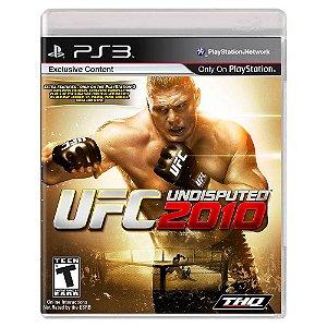 UFC 2010 Undisputed (Usado) - PS3
