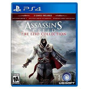 Assassin's Creed The Ezio Collection (Usado) - PS4