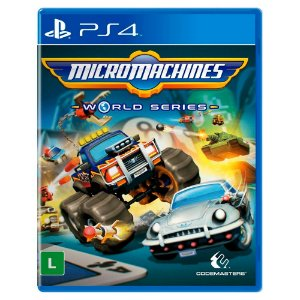 Micro Machines World Series (Usado) - PS4