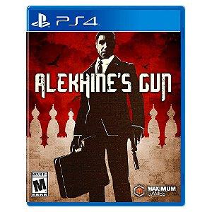 Alekhine's Gun (Usado) - PS4