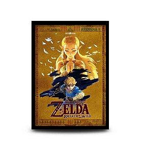 Quadro The Legend of Zelda: Breath of the Wild - 32,5 x 43cm