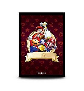 Quadro Super Mario 3D All-Stars - 32,5 x 43cm