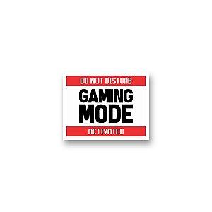Placa Decorativa #59 Gaming Mode