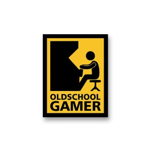 Placa Decorativa #56 Old School Gamer