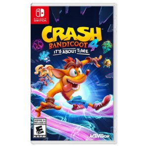 Crash Bandicoot 4 It's About Time - Switch