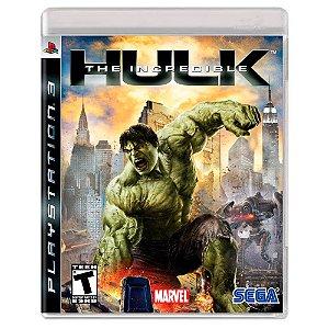 The Incredible Hulk (Usado) - PS3