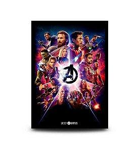Quadro Avengers: Infinity War - 32,5 x 43cm