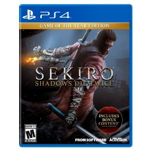 Sekiro: Shadows Die Twice - Game of the Year Edition - PS4