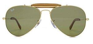Óculos de Sol Ray-Ban Caçador RB3422 - Verde