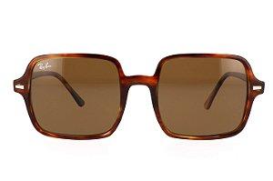 Óculos de Sol Ray-Ban RB1973 Square II Tartaruga