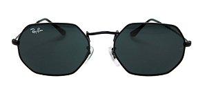 Óculos de Sol Ray-Ban RB3556N Octagonal Preto