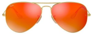 Óculos de Sol Ray-Ban Aviador RB3025 - Vermelho Espelhado