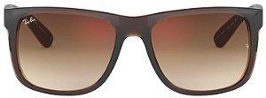 Óculos de Sol Ray-Ban RB4165L Justin Marrom Polarizado