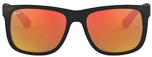 Óculos de Sol Ray-Ban RB4165L Justin Vermelho Polarizado