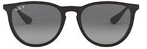 Óculos de Sol Ray-Ban RB4171 Erika Preto Polarizado