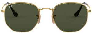 Óculos de Sol Ray-Ban RB3548 Hexagonal Verde