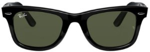 Óculos de Sol Ray-Ban Wayfarer Preto RB2140 - Brilhante