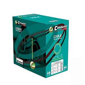 Cabo de rede cat5 Condutti CFTV  ISO 9001