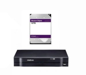 MHDX 1116 C/ HD 10TB - GRAV. DIG. DE VÍDEO 16 CANAIS 1080p LITE - INTELBRAS MULTI-HD® SÉRIE 1000 - H.265, H.265+, Nova interface gráfica, HDCVI + HDTVI + AHD + IP + ANALÓGICO com HD de 10TB instalado - PRODUÇÃO CUSTOMIZADA COM ENTREGA EM ATÉ 45 DIAS