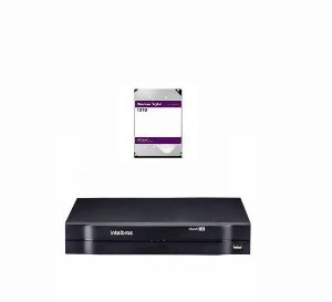 MHDX 1116 C/ HD 12TB - GRAV. DIG. DE VÍDEO 16 CANAIS 1080p LITE - INTELBRAS MULTI-HD® SÉRIE 1000 - H.265, H.265+, Nova interface gráfica, HDCVI + HDTVI + AHD + IP + ANALÓGICO com HD de 12TB instalado