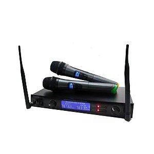 Microfone Profissional Wireless - MT 2202