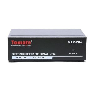 Distribuidor De Sinal VGA 1X4 - MTV 204