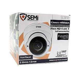 Câmera Híbrida Flex HD 4 em 1 Infravermelho - SC9212