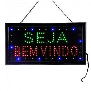 Letreiro Luminoso de LED Seja Bem Vindo - LE 3005