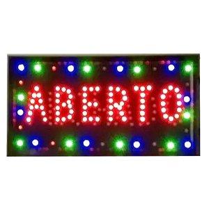 Letreiro Luminoso de LED Aberto/Fechado - LE 2002