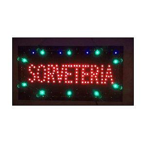 Letreiro Luminoso de LED Sorveteria LK G2548