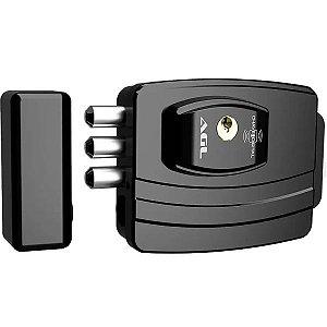 Fechadura Eletrônica AGL Ultra Card Preta 42MM CH.SIMP.F.ESP AGL